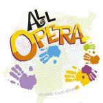 Il logo dell'oratorio estivo 2018: AllOpera